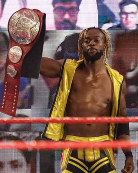 Bronson Daniels as Interwire Champion in May 2021