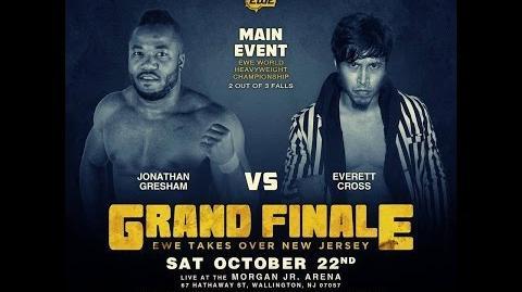 Elite Wrestling Entertainment - Jonathan Gresham Vs Everett Cross EWE CHAMPIONSHIP