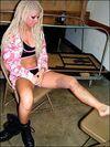 Angelina's first Knee Injury