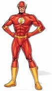 Dc-comics-the-flash-lifesize-cardboard-cutout-184cm-product-image