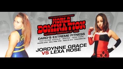 Elite Wrestling Entertainment - Jordynne Grace vs Lexa Rose