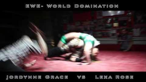 Elite Wrestling Entertainment - World Domination - Jordynne Grace Vs Lexa Rose Highlight Reel