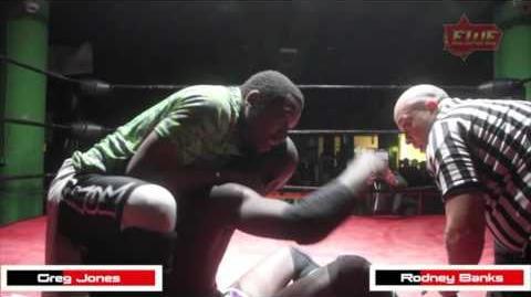 Elite Wrestling Entertainment - EWE Rodney Banks Vs Greg Jones