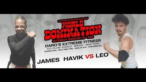 Elite Wrestling Entertainment - James F'n Havik Vs Leo