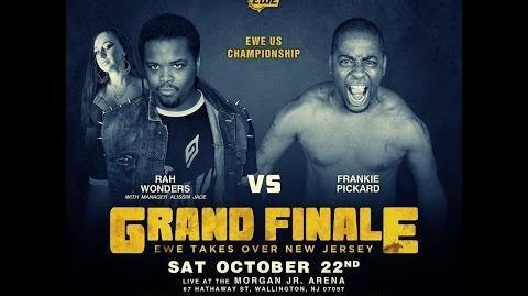 Elite Wrestling Entertainment - Rah Wonders Vs Frankie Pickard - US CHAMPIONSHIP