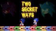 Two secret ways! Sally