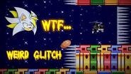 What the heck...? Weirdest glitch of all! Sally