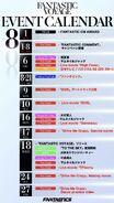 FANTASTICS VOYAGE Event Calendar updated