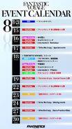 FANTASTIC VOYAGE event calendar updated 2