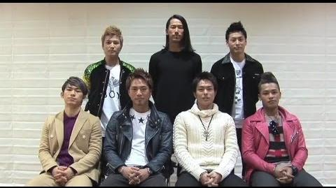 """Sandaime J Soul Brothers - """"MIRACLE"""" Special Comment"""