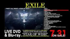 """EXILE_-_EXILE_LIVE_TOUR_2018-2019_""""STAR_OF_WISH""""_LIVE_DVD_&_Blu-ray_(Digest)"""