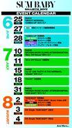 BALLISTIK BOYZ - SUM BABY event calendar