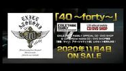 "EXILE ATSUSHI - NEW ALBUM ""40 ~forty~"" TEASER Vol"