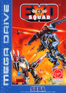 ExoSquad Mega Drive 1995 cover art
