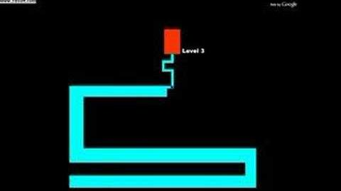The infamous third level of The Scary Maze Game.
