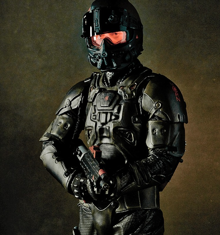 Martian light armor