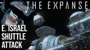 The Expanse - Edward Israel Shuttle Attack & Lucia Rescue