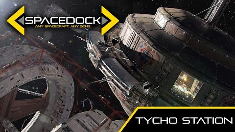 The Expanse Tycho Station - Spacedock