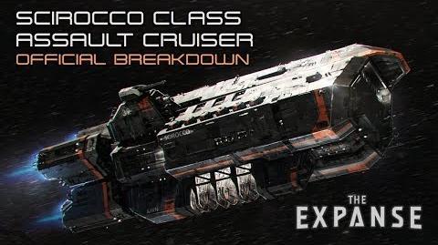 The Expanse Scirocco Class Assault Cruiser - Official Breakdown