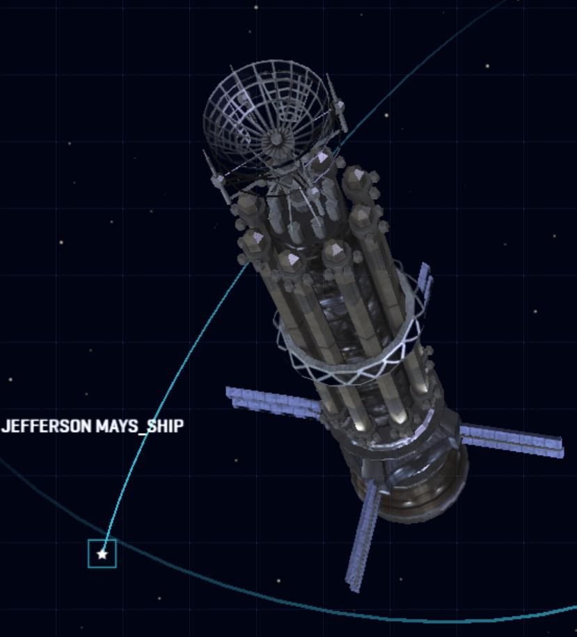 Jefferson Mays (spacecraft)
