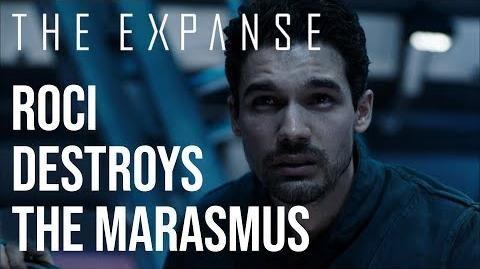 The Expanse - The Roci Destroys The Marasmus HD