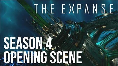 The Expanse - Season 4 Opening Scene Ring Gate Blockade HD