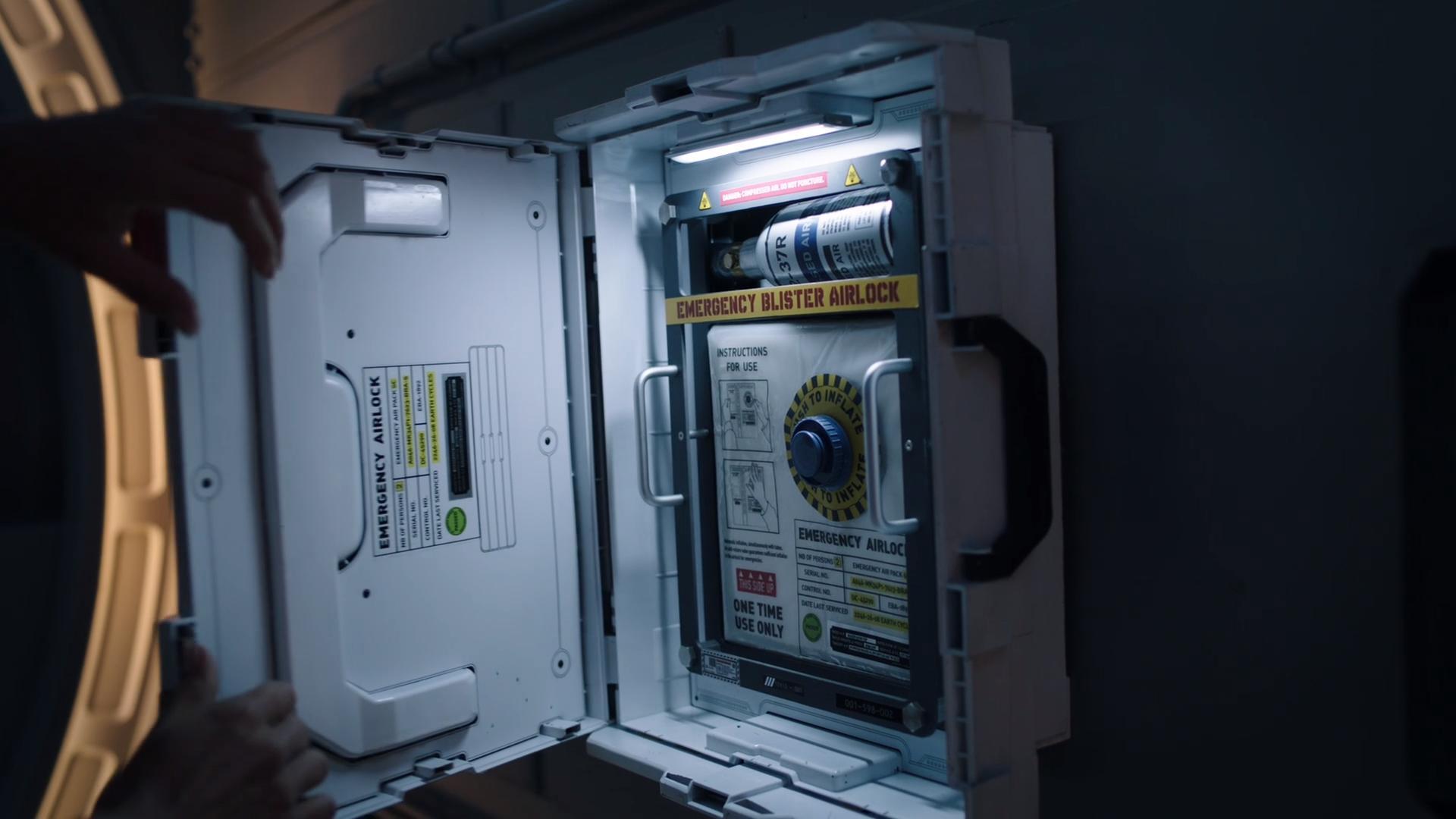 Emergency Blister Airlock