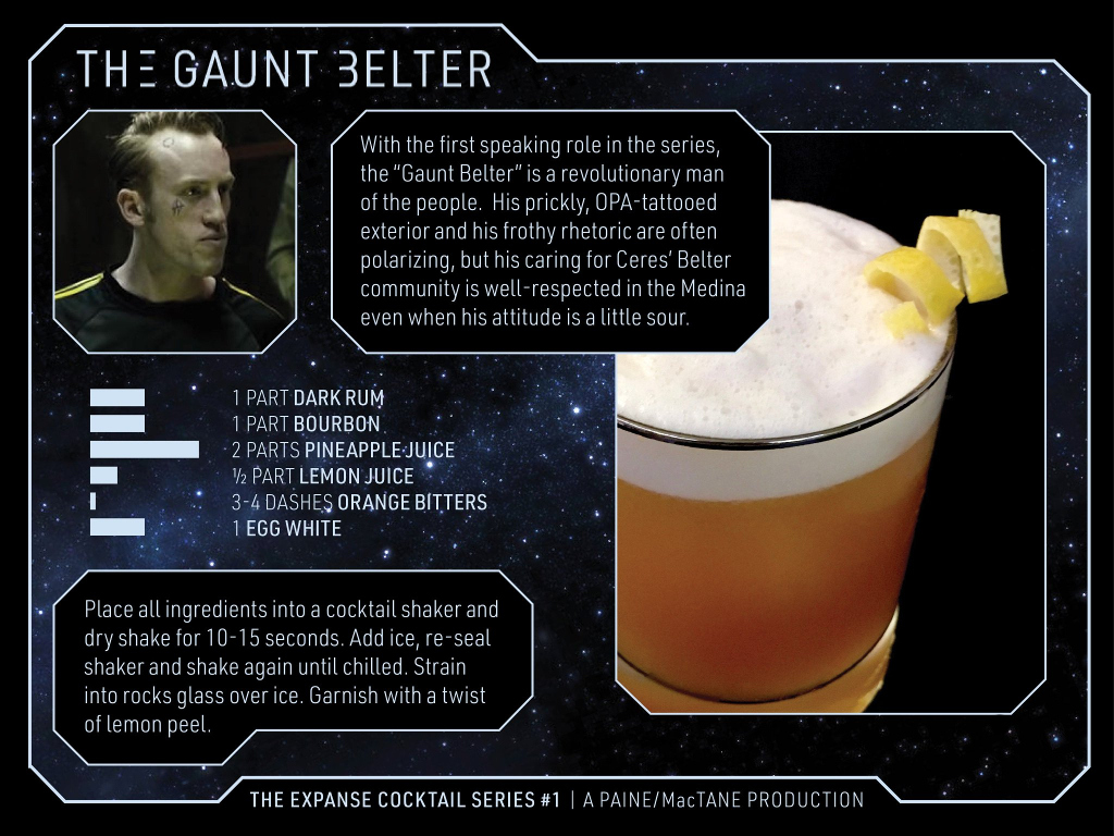 The Expanse Cocktails