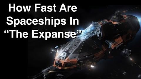 How Fast Are Spaceships In 'The Expanse'?