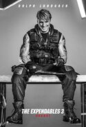 The Expendables 3 Gunner Jensen poster