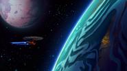 LD S01E02 Cerritos in orbit of Tulgana IV