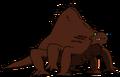 Alien Brown Lizard