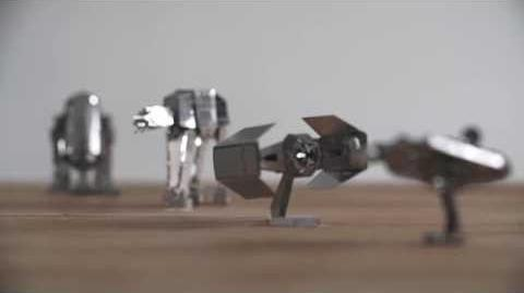 Star Wars Metal Earth 3D Models