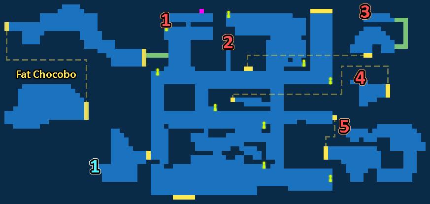 Treasure Map of Devastated Town
