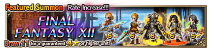 Featured Summon for Final Fantasy XII