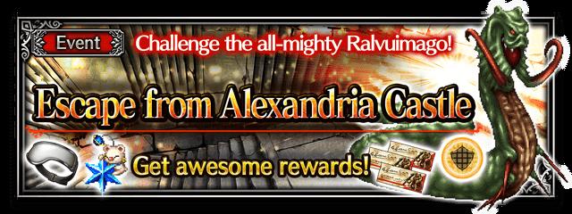 Escape from Alexandria Castle