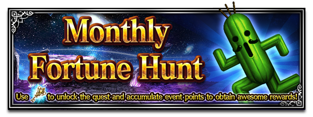 Monthly Fortune Hunt