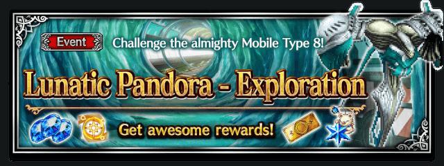 Lunatic Pandora - Exploration