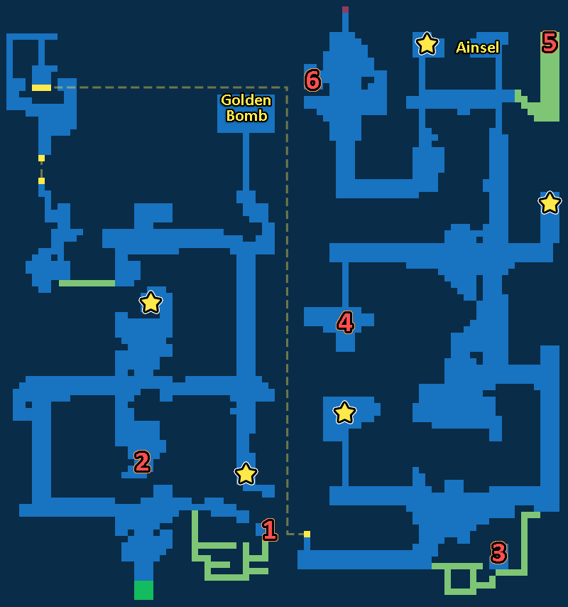 Treasure Map of Into the Abyss