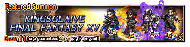 Featured Summon for Kingsglaive Final Fantasy XV
