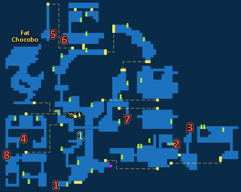 Treasure Map of Sorcerer's Hideaway