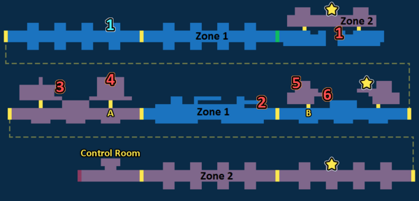 Encounter Map of Timber Tracks