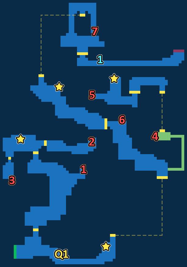 Treasure Map of Surging Volcano