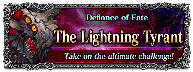 Defiance of Fate - The Lightning Tyrant