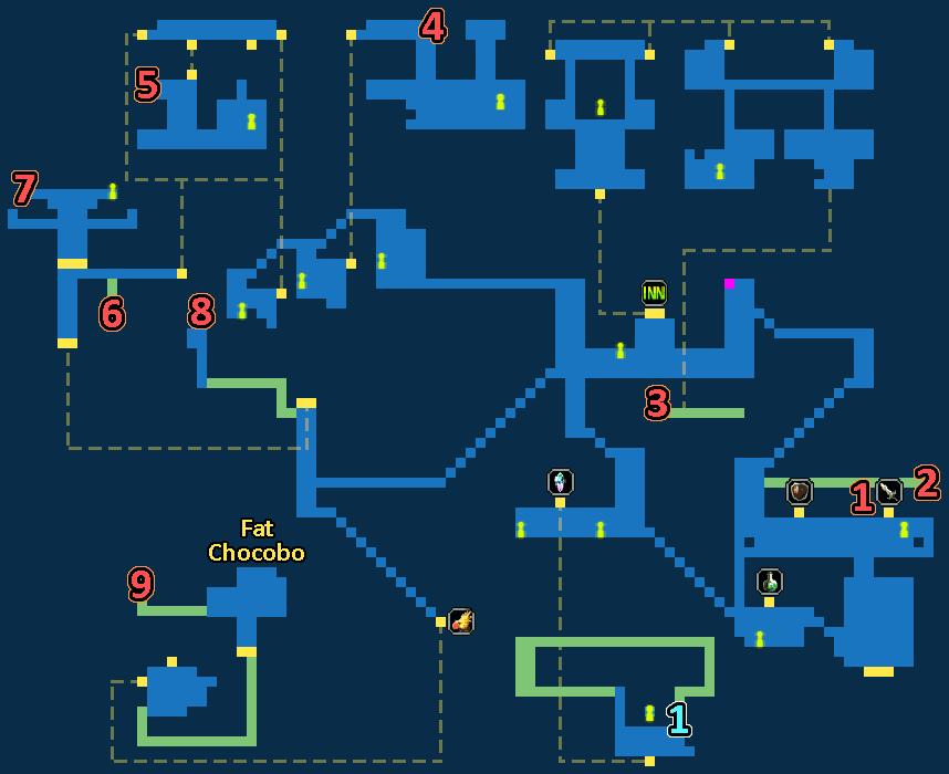 Treasure Map of Kolts Town