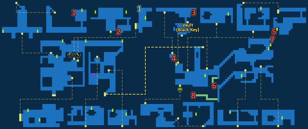 Treasure Map of Underworld Gaberada