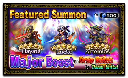 Unit Release: Hayate, Locke, and Artemios
