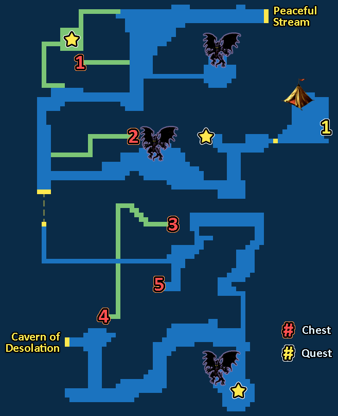 Treasure Map of Bright Forest