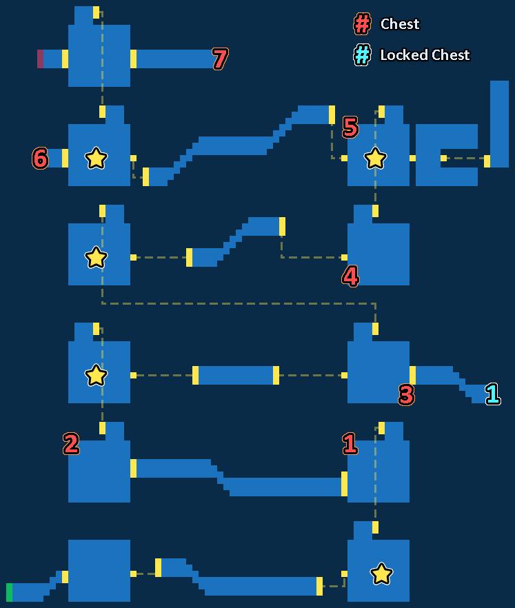 Map of Runferia Castle