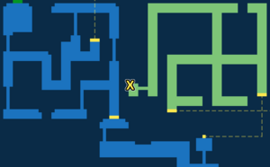 Quest marker for Unlocking Sorcerer's Hideaway